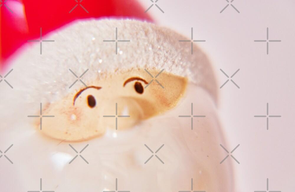 Curious Santa by Denise Abé