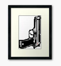 Pixel Gun Framed Print