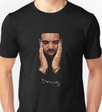 Drke Drizzy Rapper Moasiac T-Shirt Slim Fit T-Shirt
