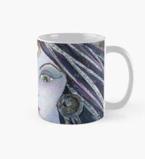 THE AMAZING - Gypsy Fortune Teller mixed media painting Classic Mug