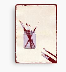 Blank Canvas | Red Canvas Print