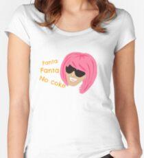 fanta fanta Women's Fitted Scoop T-Shirt
