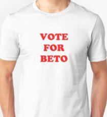 Vote for Beto Unisex T-Shirt