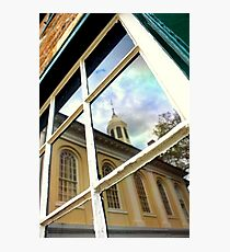 Reflection from the Old Jail Photographic Print