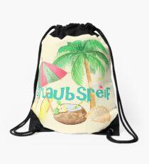 Urlaubsreif Drawstring Bag