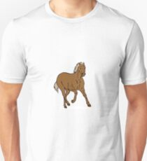 Mustang Galloping Retro Unisex T-Shirt
