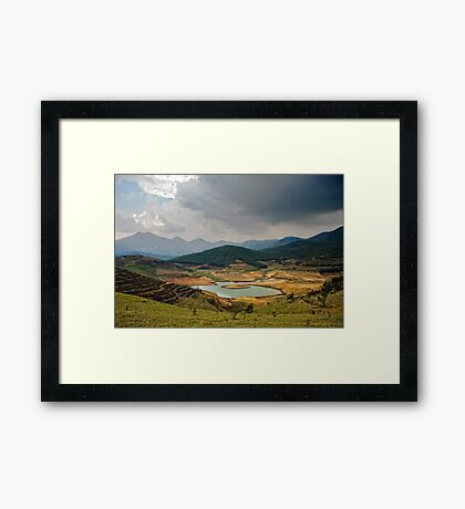Top of the World Framed Print