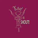 Twist & Shout Corkscrew by PegOHagan