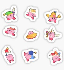 Kirby Stickers Sticker