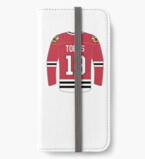 Chicago Blackhawks - Johnathan Toews iPhone Wallet/Case/Skin