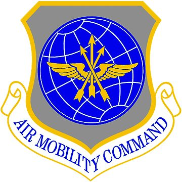 Air Mobility Command Crest by Spacestuffplus