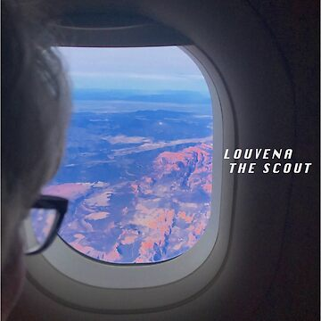 Louvena the Scout Airplane Window Sticker by valbuquerque