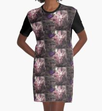 Beautiful Butterfly Graphic T-Shirt Dress