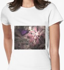 Beautiful Butterfly Fitted T-Shirt