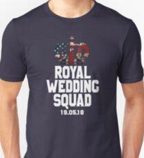 Commemorative Royal Wedding Squad 2018 Prince Harry and Meghan Markle T-Shirt & Souvenirs  Unisex T-Shirt