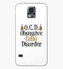 Obsessive Cello Disorder Case/Skin for Samsung Galaxy