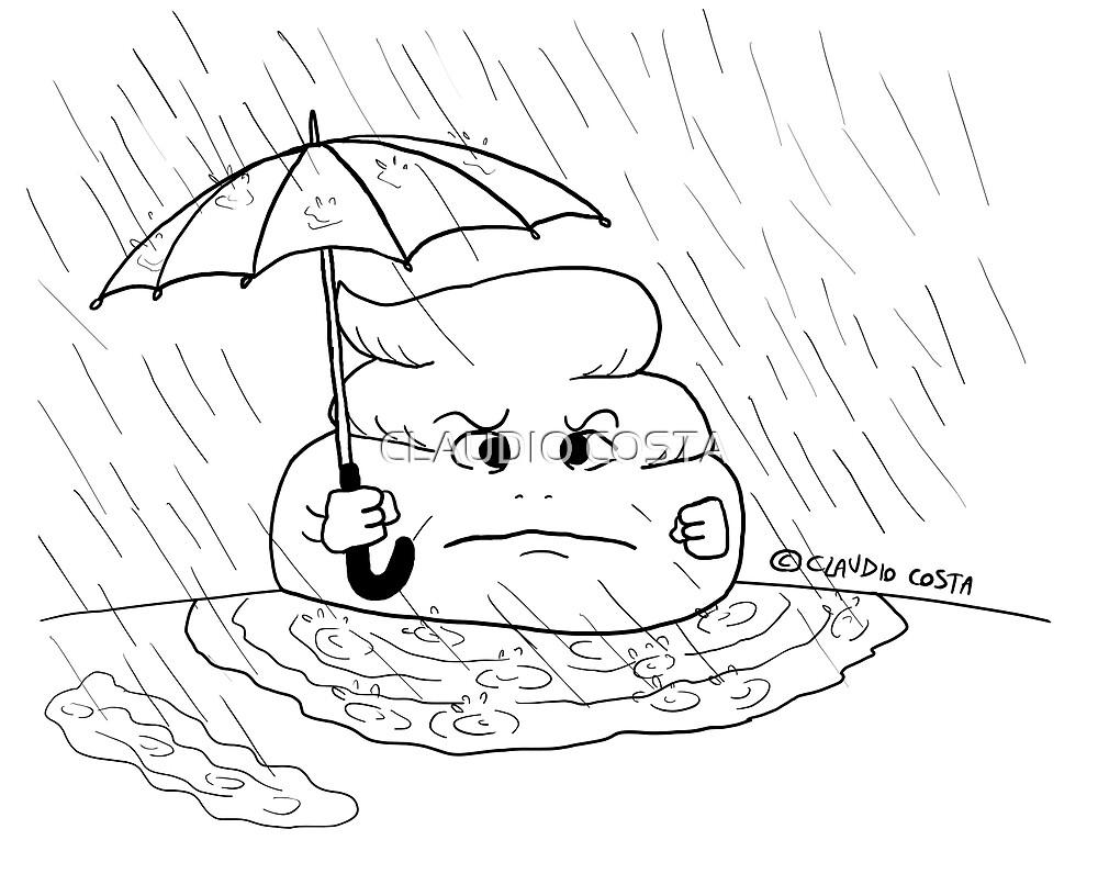 VITA E AVVENTURE DI PICCOLE MERDE - Scende la pioggia by CLAUDIO COSTA