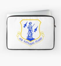 The Air National Guard (ANG) Crest Laptop Sleeve