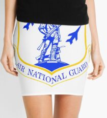 The Air National Guard (ANG) Crest Mini Skirt