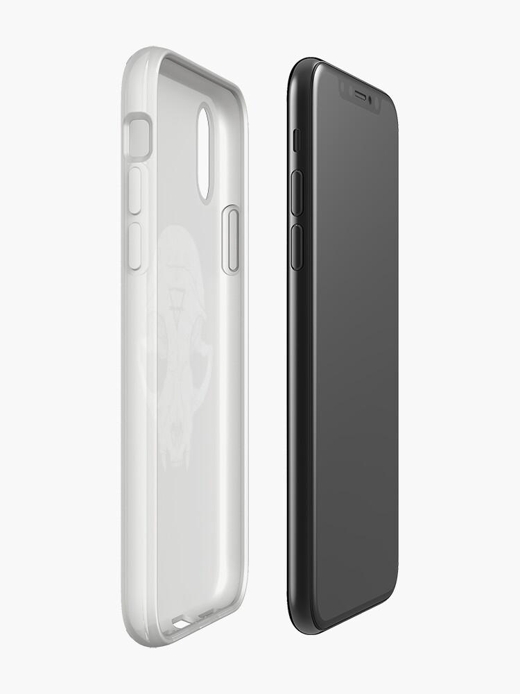 Alternate view of Cat Skull iPhone Case & Cover
