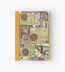 June,July & August Hardcover Journal