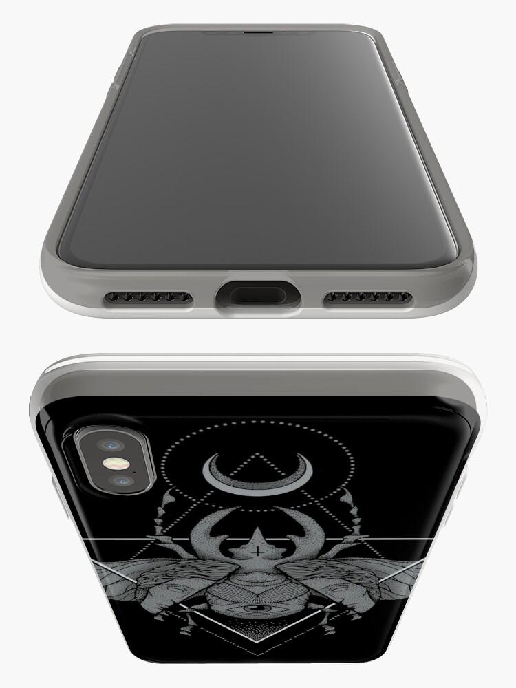 Alternative Ansicht von Okkulter Käfer iPhone-Hülle & Cover