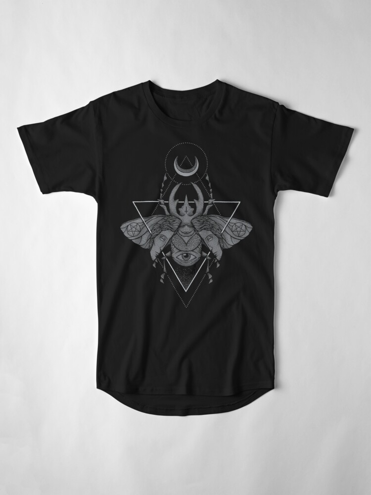Alternate view of Occult Beetle Long T-Shirt