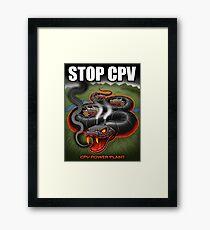 Stop CPV Framed Print
