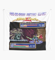 Remember Retro Games Shining Force II Wall Tapestry