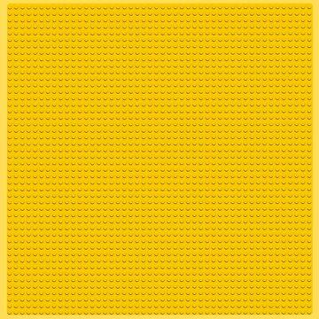 yellow lego stud pattern (circles, dots) by goatboyjr