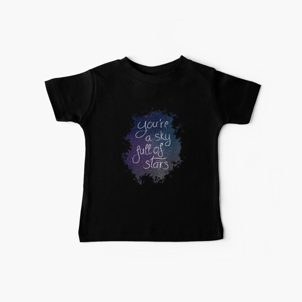 A sky full of stars Camiseta para bebés