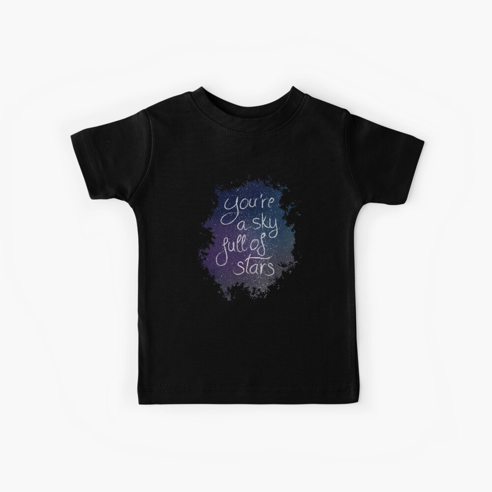A sky full of stars Camiseta para niños