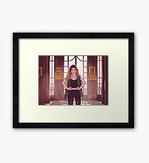 Miriam - There's Something In Me Framed Print