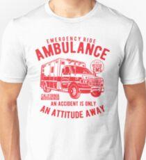EMERGENCY RIDE AMBULANCE Unisex T-Shirt
