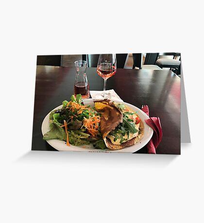 Asparagus - food of spring Greeting Card
