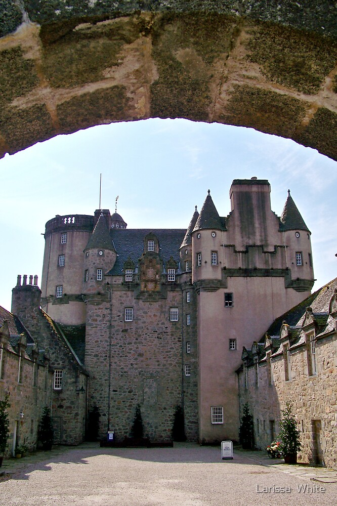 Castle Fraser by Larissa  Plain