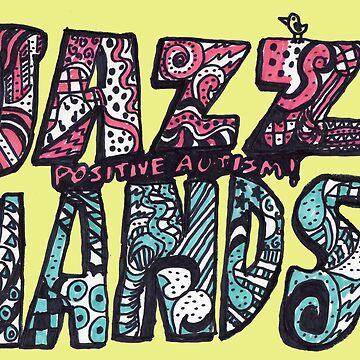 JAZZ HANDS LOGO - Positive Autism! by PositiveAutism