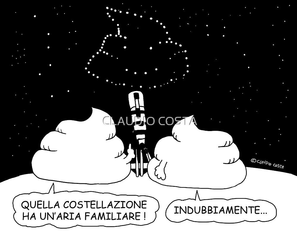 VITA E AVVENTURE DI PICCOLE MERDE - Costellazioni by CLAUDIO COSTA
