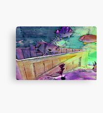 Fish Hangout Canvas Print