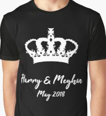 The Royal Wedding - Harry & Meghan Graphic T-Shirt