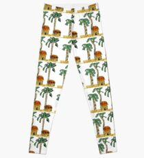 Palm Trees and Paradise Leggings