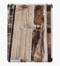 Railroad Tie on Train Bridge iPad Case/Skin