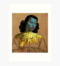 Vladimir Tretchikoff - The Chinese Girl - The Green Lady  Art Print