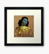 Vladimir Tretchikoff - The Chinese Girl - The Green Lady  Framed Print