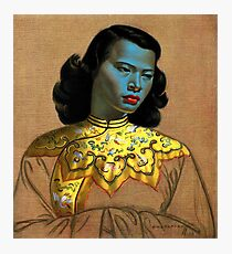 Vladimir Tretchikoff - The Chinese Girl - The Green Lady  Photographic Print