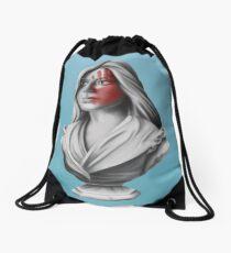 Woman Bust Drawstring Bag