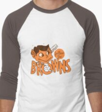 St. Louis Browns - Follow The Browns- Baltimore Orioles Men's Baseball ¾ T-Shirt