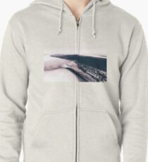 Mars - the Cold Planet Zipped Hoodie