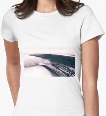 Mars - the Cold Planet Fitted T-Shirt