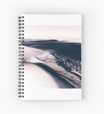 Mars - the Cold Planet Spiral Notebook